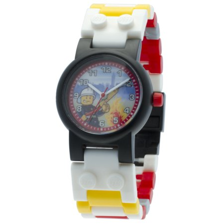 Logo Time Watch - LEGO® City Fireman Watch