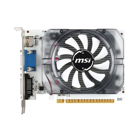 Msi N730-4gd3v2 Geforce Gt 730 Graphic Card - 700 Mhz Core - 4 Gb Ddr3 Sdram - Pci Express 2.0 X16 - 128 Bit Bus Width - Fan Cooler - Opengl 4.4, Directx 12 - 1 X Hdmi - 1 X Vga - 1 X (Pci Bus 3 Device 1 Function 3)