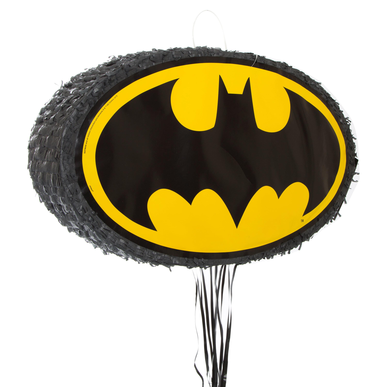 Batman logo pinata pull string walmart com