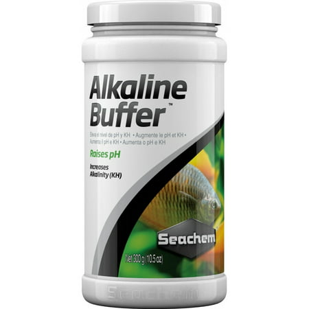 Seachem Alkaline Buffer Fresh Water Fish & Aquatic Life Water Treatment, 20.2 Oz