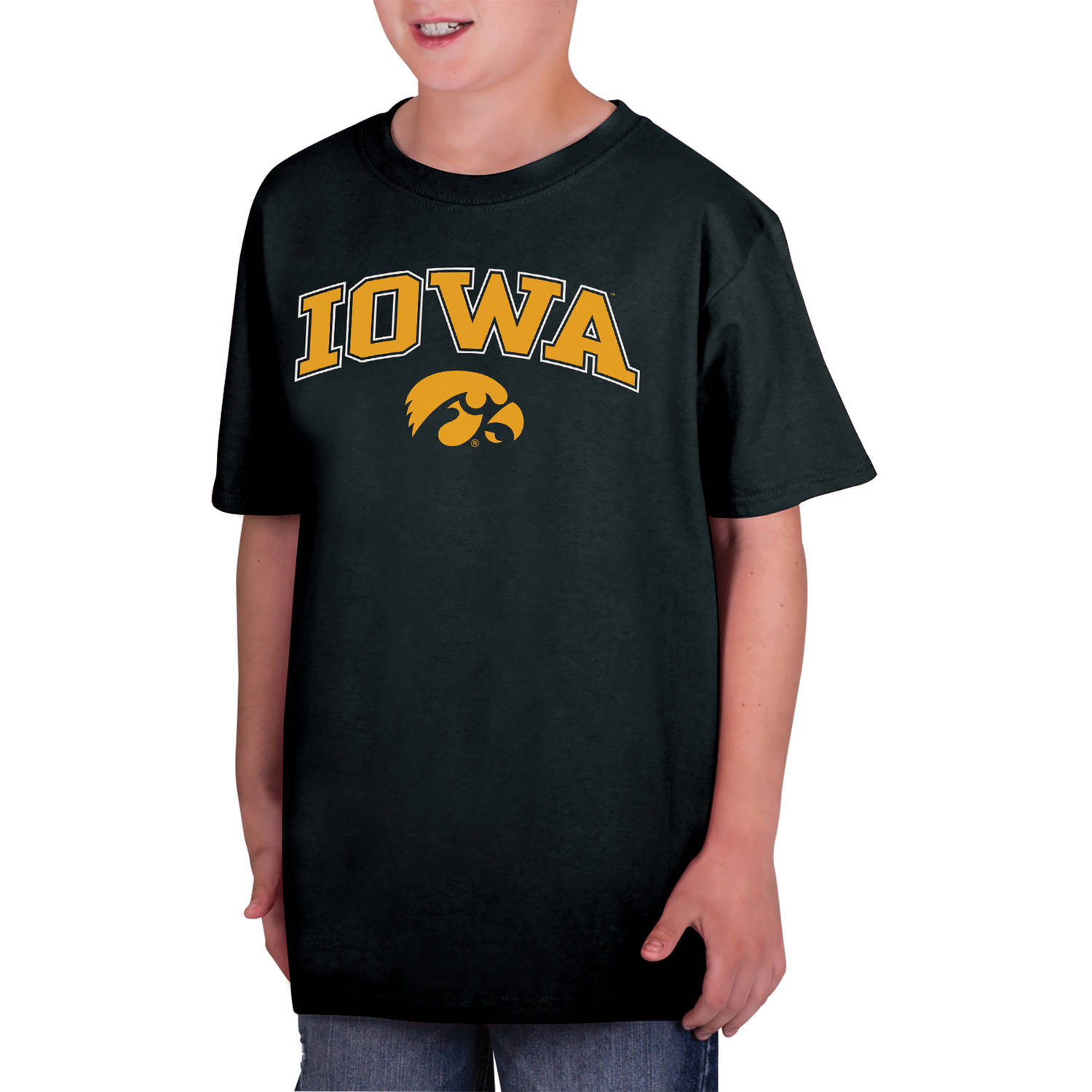NCAA Iowa Hawkeyes Boys Classic Cotton T-Shirt