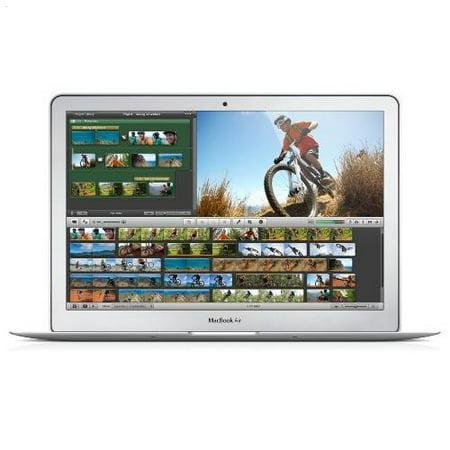 "Apple MacBook Air MD761LL/B Intel Core i5-4260U X2 1.4GHz 4GB 256GB SSD 13.3"",Silver (Scratch And Dent Refurbished)"