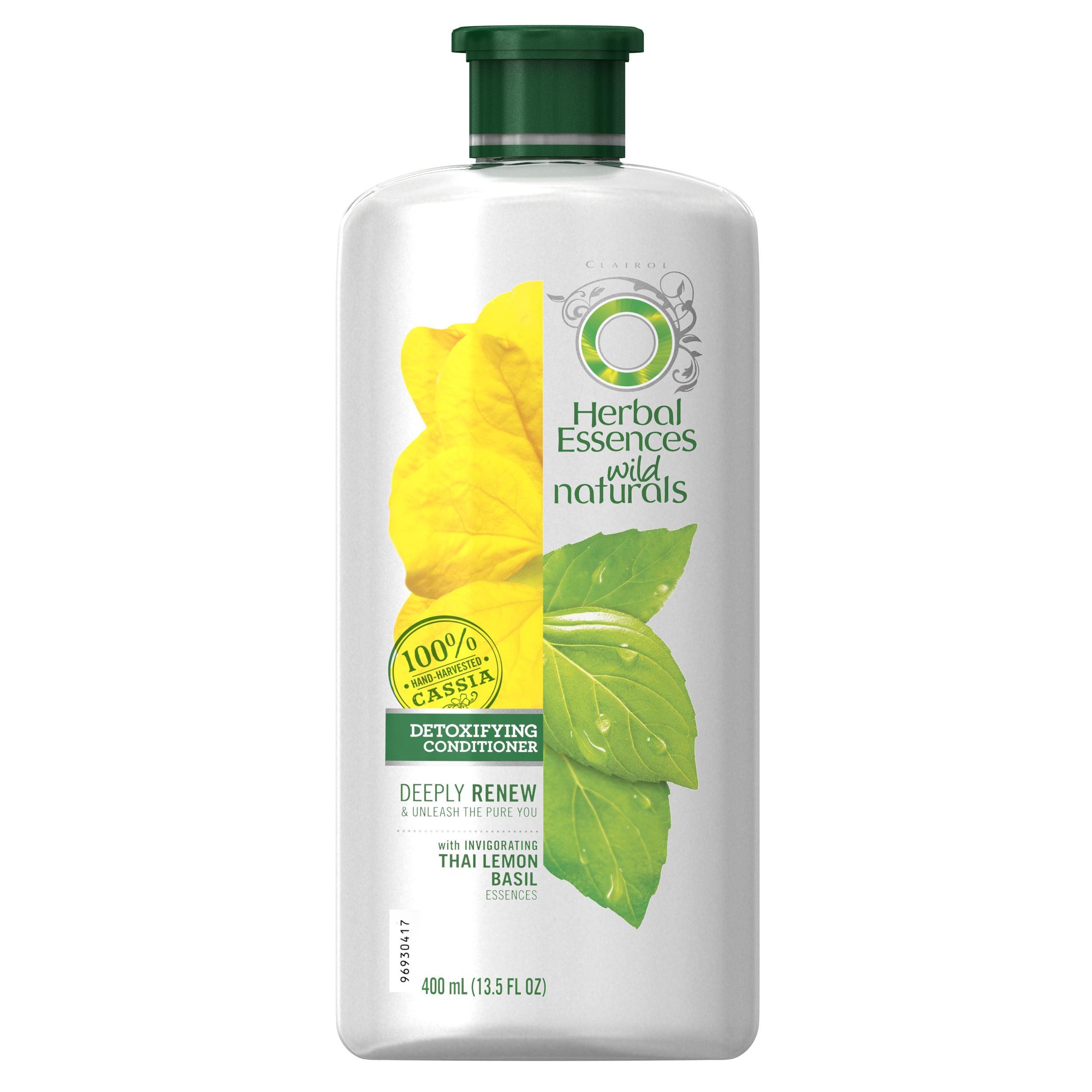 Herbal Essences Wild Naturals Detoxifying Conditioner, 13.5 fl oz