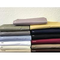 Sheetsnthings 100% Cotton Bed Sheet Set - 600TC, California King Solid Sage - Soft, Deep Pocket, 4PC Sheets