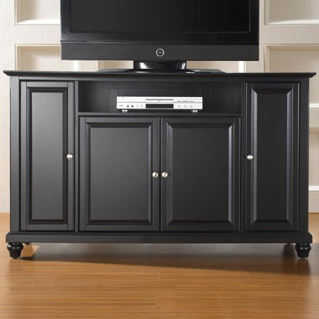 Crosley Furniture Cambridge TV Stand for TVs up to (Crosley St48 Turntable Entertainment Center Stand Cherry)