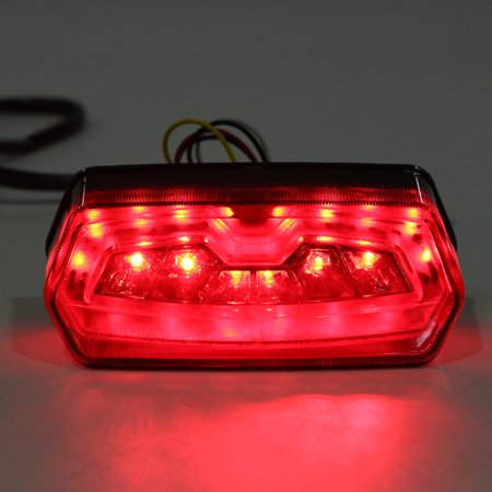 Motorcycle turnsignal LED Brake Tail Light Integrated Turn Signals For Honda MSX 125 Grom - image 3 of 10
