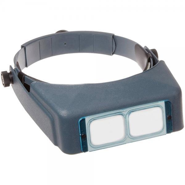 Donegan DA-5 OptiVisor Headband Magnifier, 2.5x Magnification, 8 Focal Length