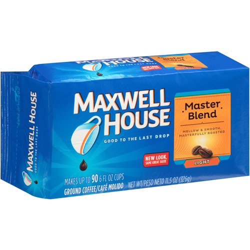 Maxwell House Master Blend Mild Coffee, 11.5 oz