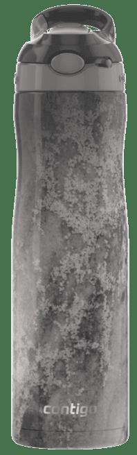 Contigo Leak-Proof Vacuum-Insulated Water Bottle | AUTOSPOUT Straw Ashland Stainless Steel Water Bottle, 20 oz, Erosion