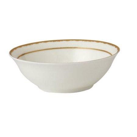 Lorren Home Trends La Luna Sonia 9'' Bone China Serving - Fine China Platinum Bowls