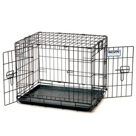 Precision Pet ProValu Double Door Dog Crate - Walmart.com