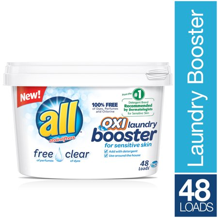All Oxi Laundry Booster For Sensitive Skin Free Clear 52