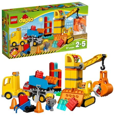 Pontiac Big Block - LEGO DUPLO Town Big Construction Site 10813