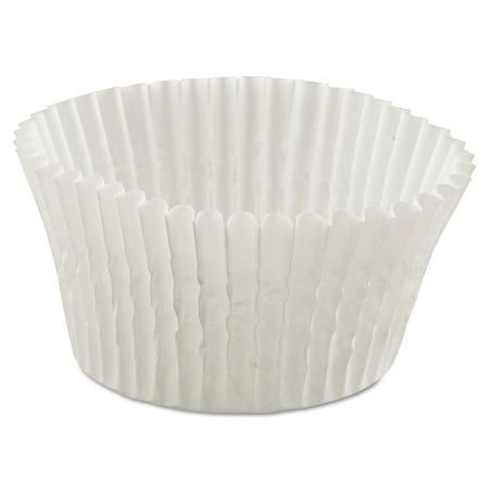 Hoffmaster Fluted White Bake Cups  500 Count   Pack Of 20