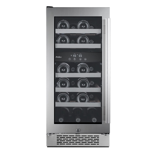 Avallon 23 Bottle Dual Zone Convertible Wine Cooler