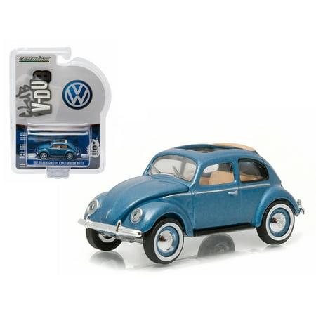 1951 volkswagen type 1 split window beetle azure blue with for 1951 volkswagen split window