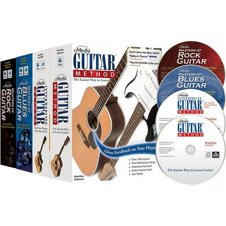 eMedia Guitar Collection (2018 Edition) - 4 Volume (Karaoke Collection)