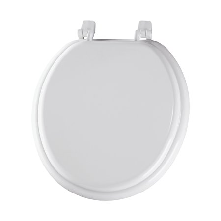 Cool Bemis 400Tta Wood Round Toilet Seat White Uwap Interior Chair Design Uwaporg