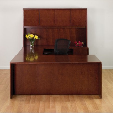 Osp Sonoma U Shape Executive Desk Hutch 3048 Product Photo