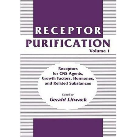 Receptor Purification  Vol 1  Hardcover
