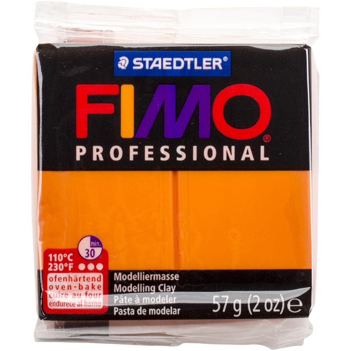 Fimo Professional Soft Polymer Clay 2oz-Orange