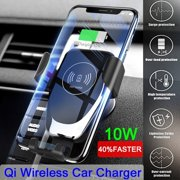 Car Universal Smartphone Holder Wireless Charger Magnetic Air Vent Mount Charging Phone Holder For Samsung S9 For iPhone XS Mobile Phone smartphone