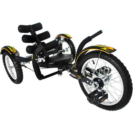 Mobo Mobito: The Ultimate 3-Wheeled Cruiser, Youth (Recumbent Trike)