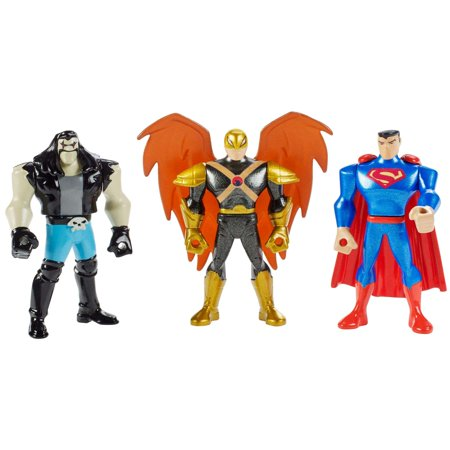 Justice League Action Mighty Mini 3-Pack Figures - Superman, Hawkman and Lobo](Max Steel Characters)