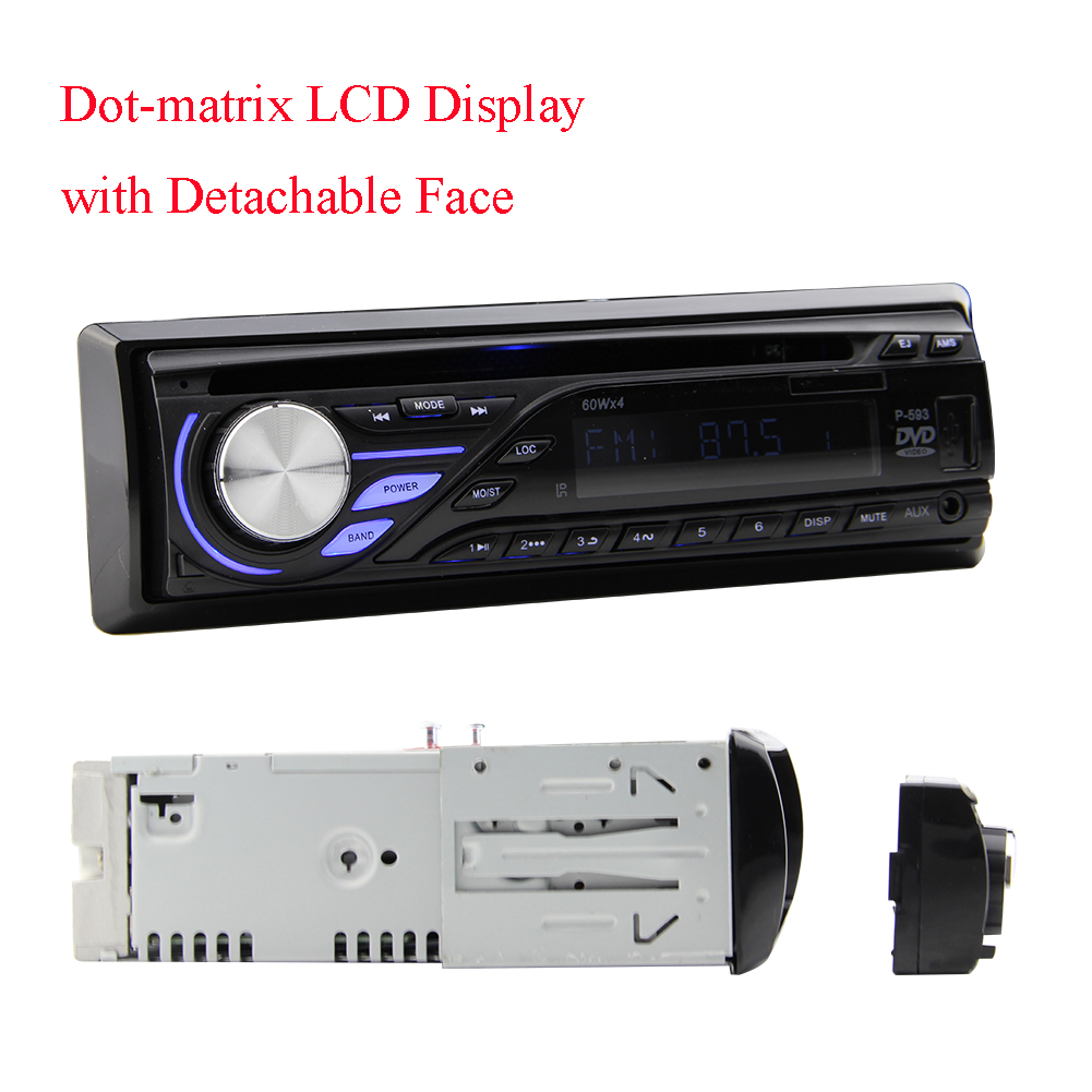 Hotsale 1 din Car dvd player 1Din Car radio support FM/MP...