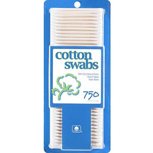 Walmart Cotton Swabs, 750 count