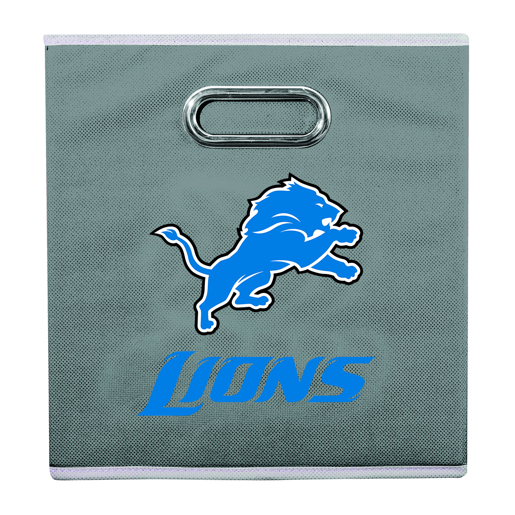 Franklin Sports NFL Detroit Lions Collapsible Storage Bin