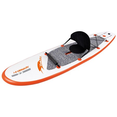 Blue Wave Sports Stingray 10-ft Inflatable Stand Up Paddleboard w/ Paddle & Hand Pump (Up Sports)