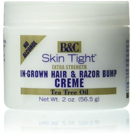 2 Pack - B&C Skin Tight Extra Strength Razor Bump Creme 2
