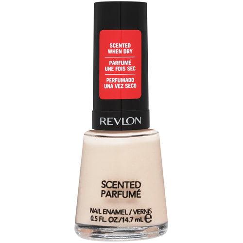 Revlon Scented Nail Enamel, 345 Peach Smoothie, 0.5 fl oz