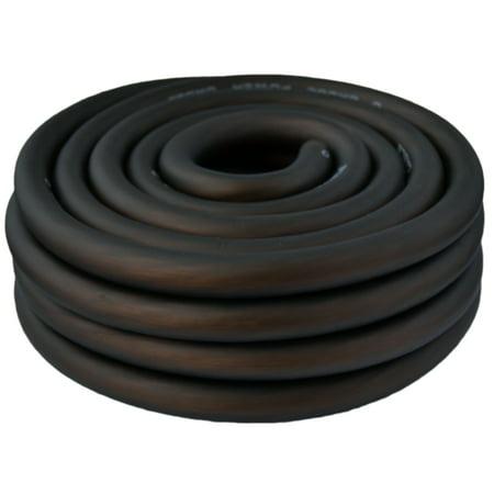 SoundBox 0 Gauge Black Amplifier Power / Ground Wire 1/0 Ga Amp Cable, 25