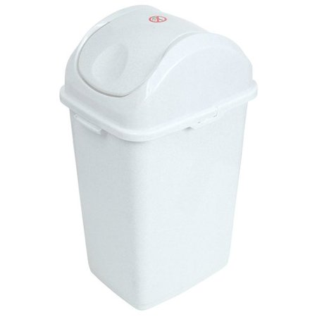 Superio Swing Top Trash Can 5 Qt. ()
