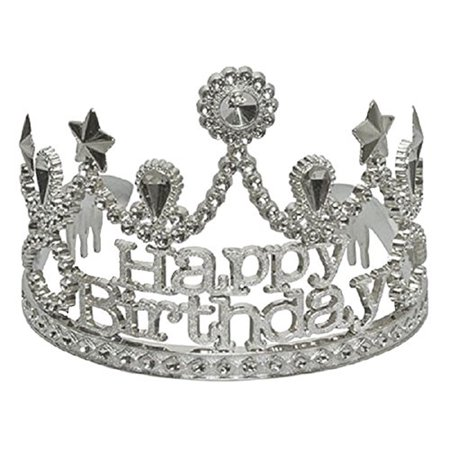 Birthday Tiaras (Dillon Jeweled Happy Birthday Tiara)