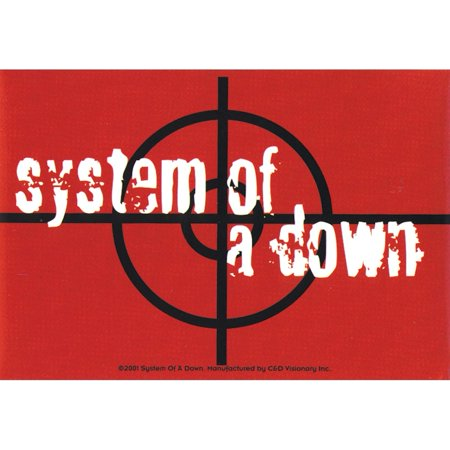 Target Decals - System Of A Down - Target - Decal