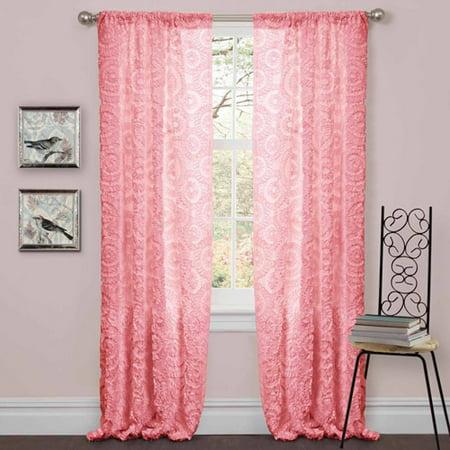 Stella Pink Window Curtain Walmartcom
