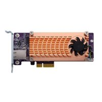 QNAP QM2-2S10G1TA Dual M.2 2280 SATA SSD & Single-port 10 GbE Expansion Card