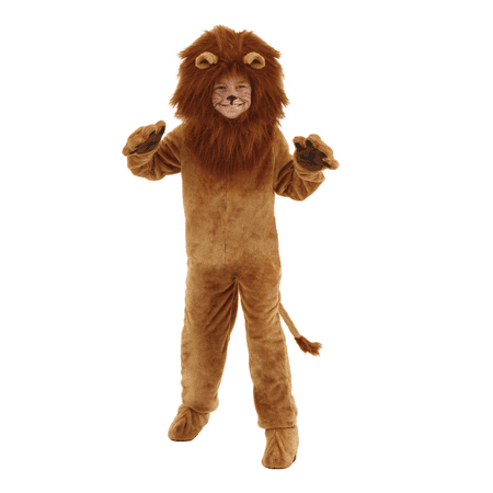 Child Deluxe Lion Costume](Lion Kids Costume)