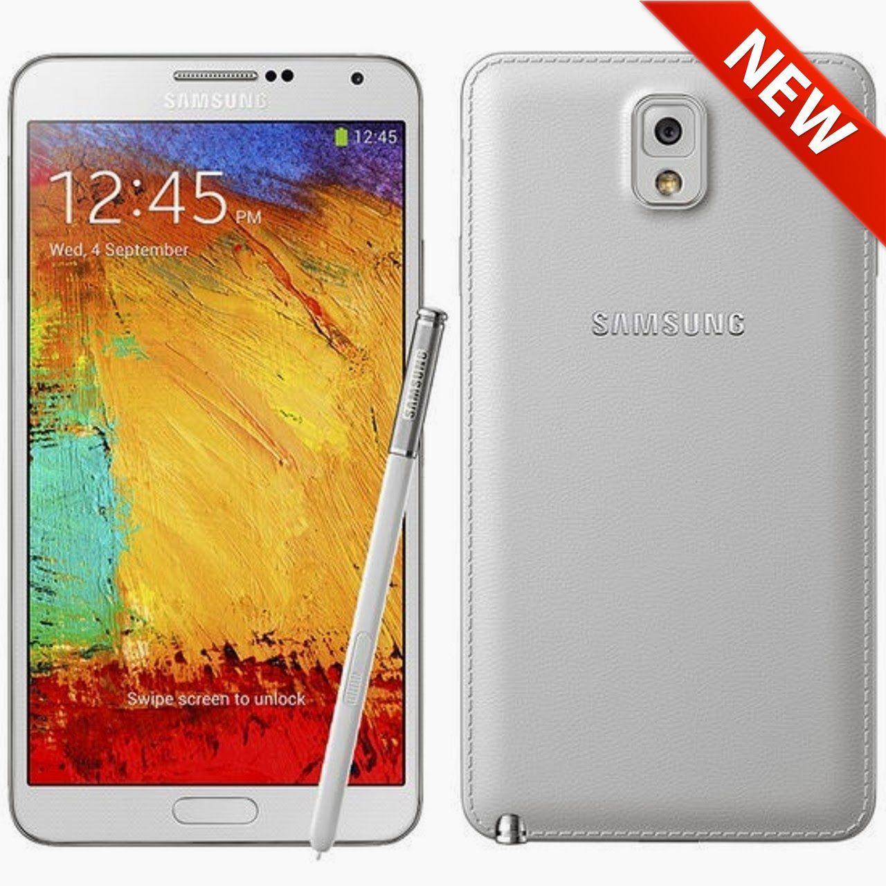Samsung Galaxy Note 3 SM-N900A - 32GB - White (At) Smartp...