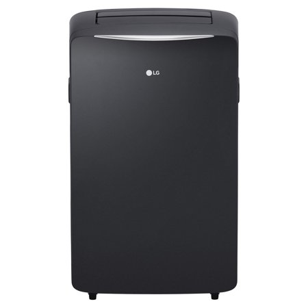 LG 14,000 BTU 115V Portable Air Conditioner with 12,000 BTU Supplemental Heating, Graphite Gray