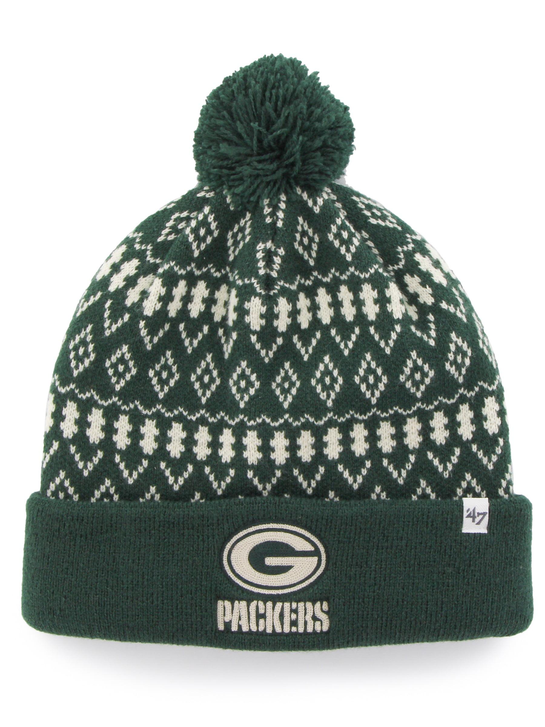 Green Bay Packers Eileen Women's Dark Green Cuffed Knit Hat by 47 Brand