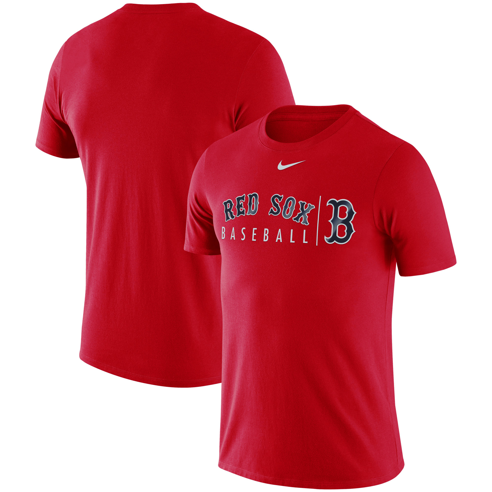 Boston Red Sox Nike MLB Practice T-Shirt - Red