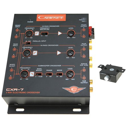 onic xover 7Volt line driver (3 Way Electronic)