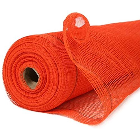 Construction Safety Debris Netting - 150 Ft Temporary Material Roll, 1/4 in Mesh Scaffold Net Enclosure, Barricade, Visibility Barrier, Fencing Roll - Heavy Duty Fire Retardant Plastic - Orange