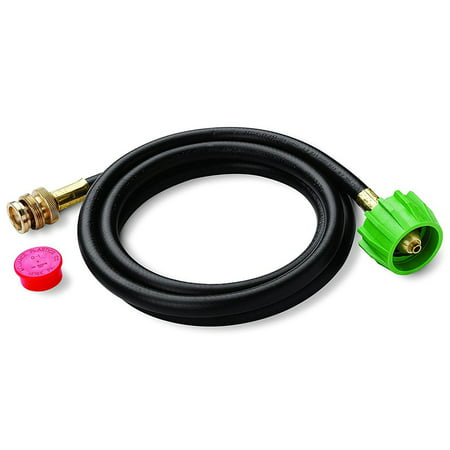Weber Q Go Anywhere Portable Gas Grill Propane Hose Kit 5' (Weber Grill Conversion Kit Propane To Natural Gas)