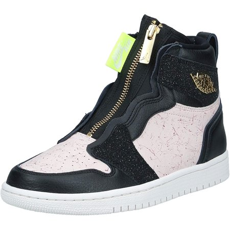 Nike Women's Air Jordan 1 High Top Zip Basketball Shoes Nike Air Force 1 Jordans