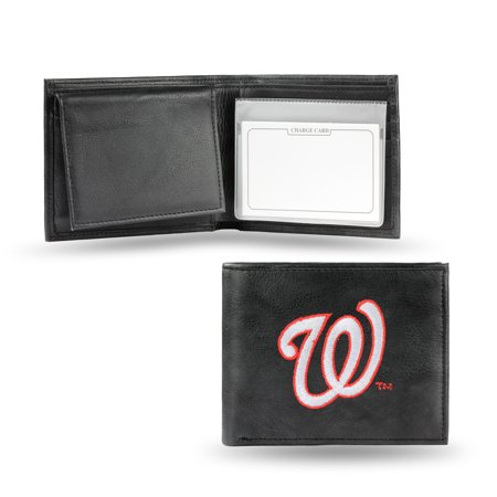 MLB - Men's Washington Nationals Embroidered Billfold Wallet